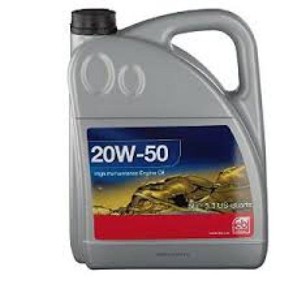 Aceite de motor 20W-50